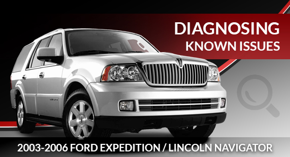 Lincoln Navigator & Ford Expedition Air Suspension Diagnosis