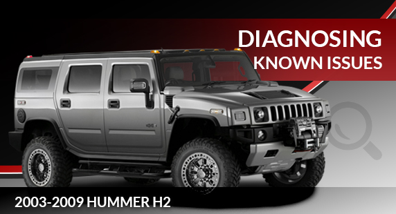 2003 to 2009 Hummer H2