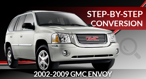 2002-2009 GMC Envoy Air Suspension to Conventional Coil Spring Conversion