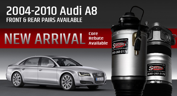 Audi A8 D3 Suspension Problems? Find the problem and fix it!