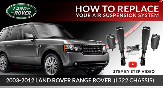 2003-2012 Land Rover Range Rover L322 Suncore Air Suspension System Installation Guide