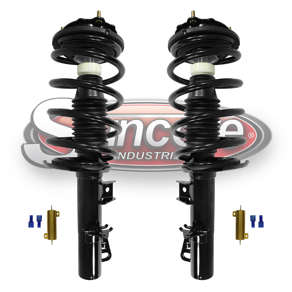 Electronic Suspension to Coil Spring and Strut Conversion Kit Front Pair - Lincoln Continental