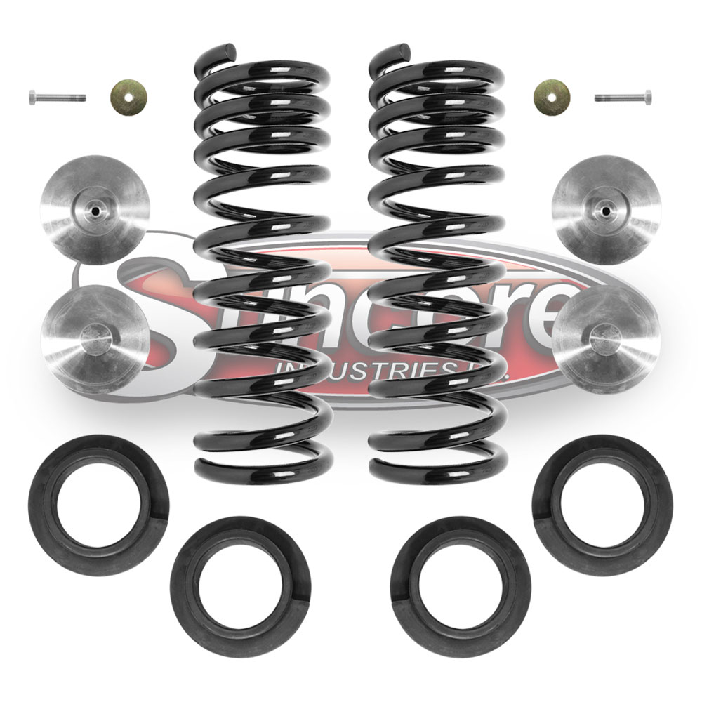 L322 Air Suspension Air Spring to Coil Spring Conversion Kit Rear Pair - Land Rover Range Rover