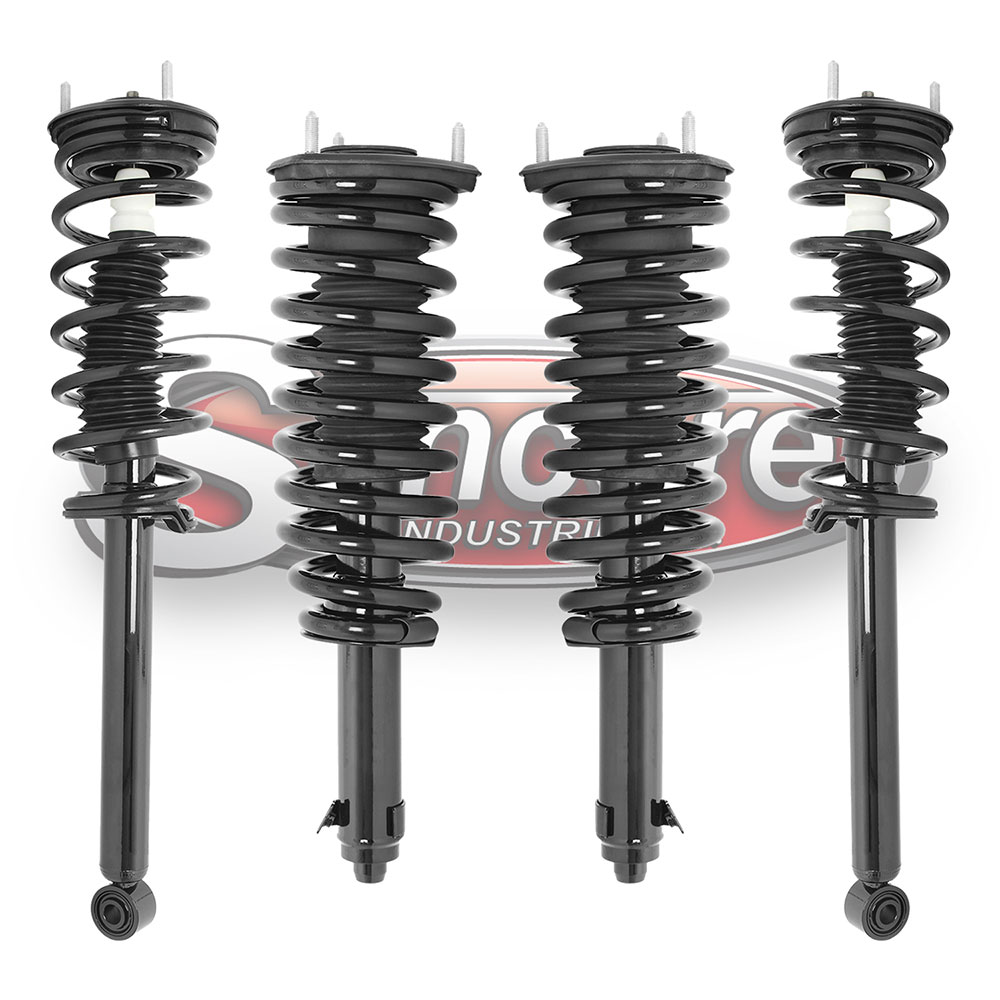 XF40 Air Suspension Air to Coil Spring and Strut Conversion Kit - Lexus LS460