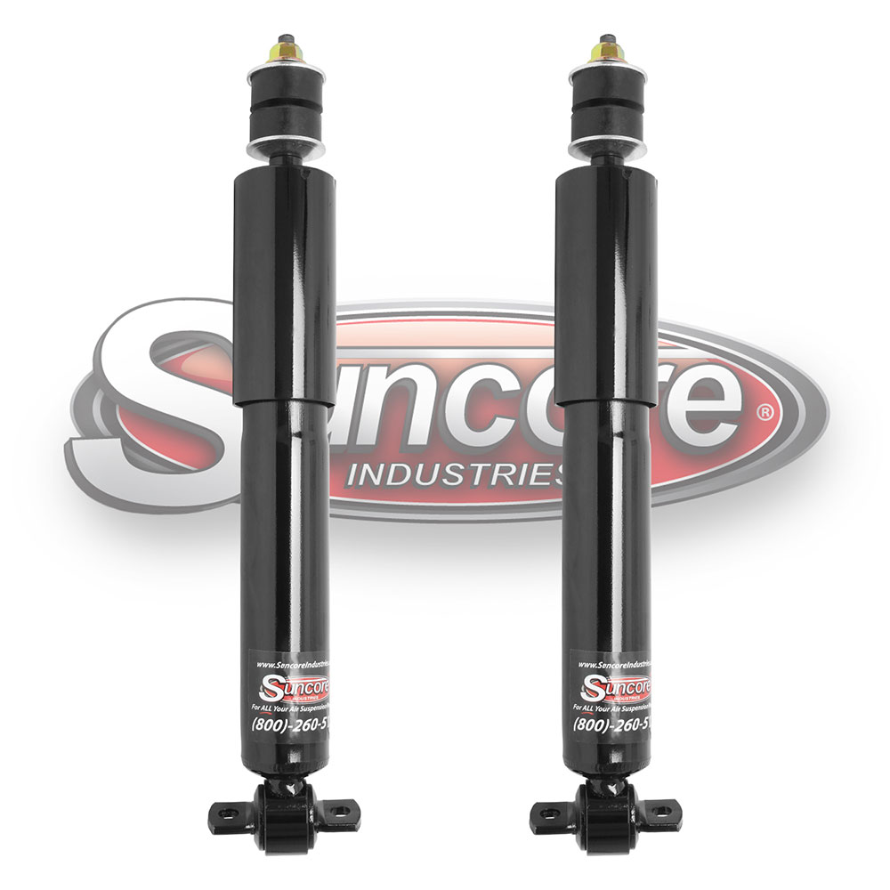 Pair of Front Gas Shock Absorbers for Suspension in 2WD models of 1997-2002 Expeditions & Navigators