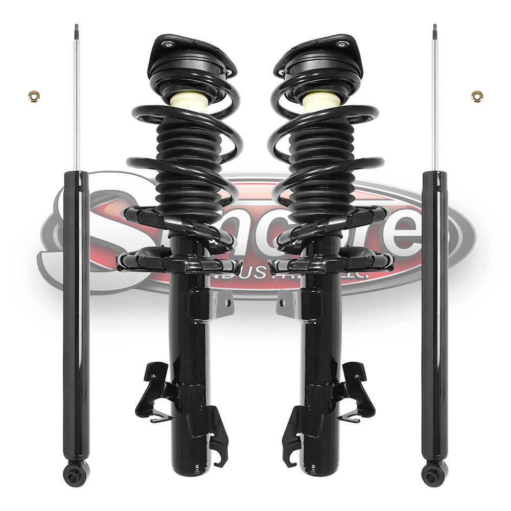 Quick Install Strut Assemblies & Shock Absorber Bundle - Mazda 3 & 5