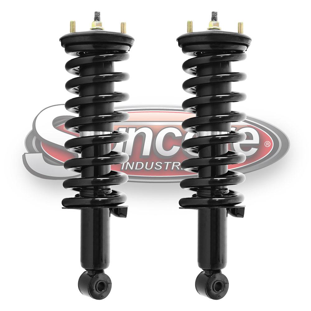 Quick Complete Install Strut Assemblies Front Pair - Nissan Frontier