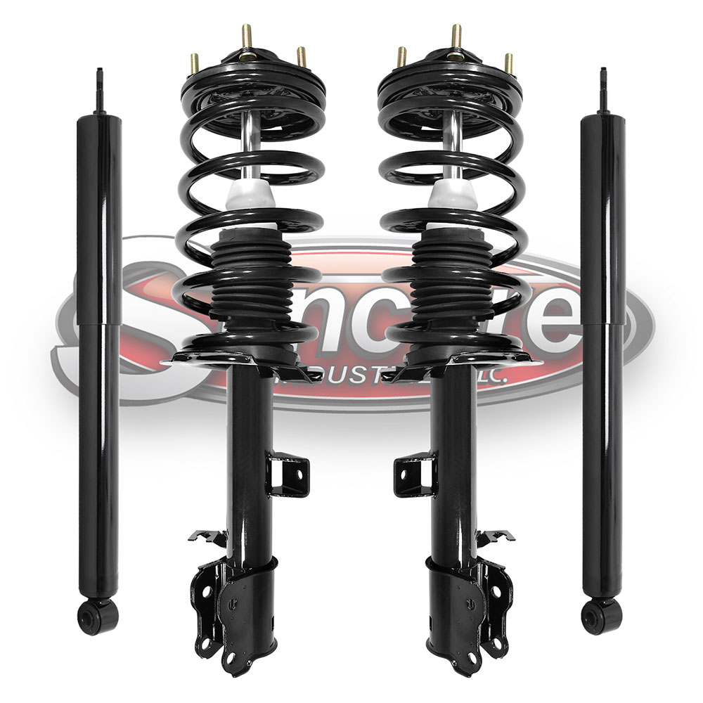 Quick Install Complete Struts & Rear Gas Shock Absorbers Bundle - Escape, Tribute & Mariner