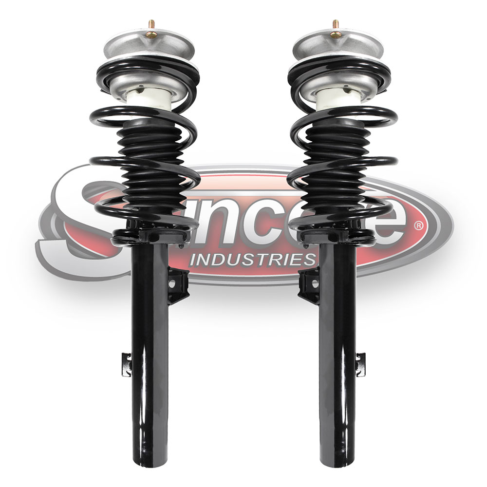 Quick Install Complete Strut Assemblies Front Pair - BMW 1 & 3 Series RWD
