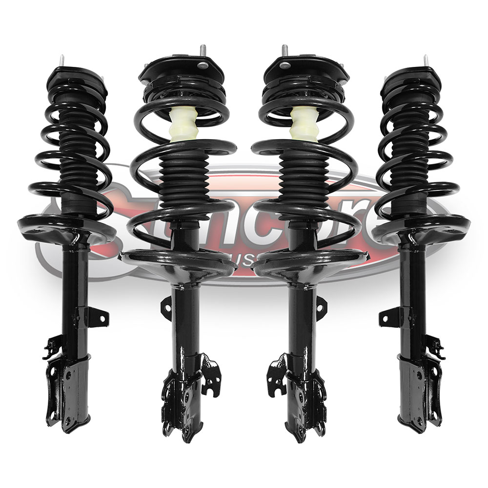 Quick Complete Strut & Shock Assemblies with Mounts - FWD Toyota Highlander