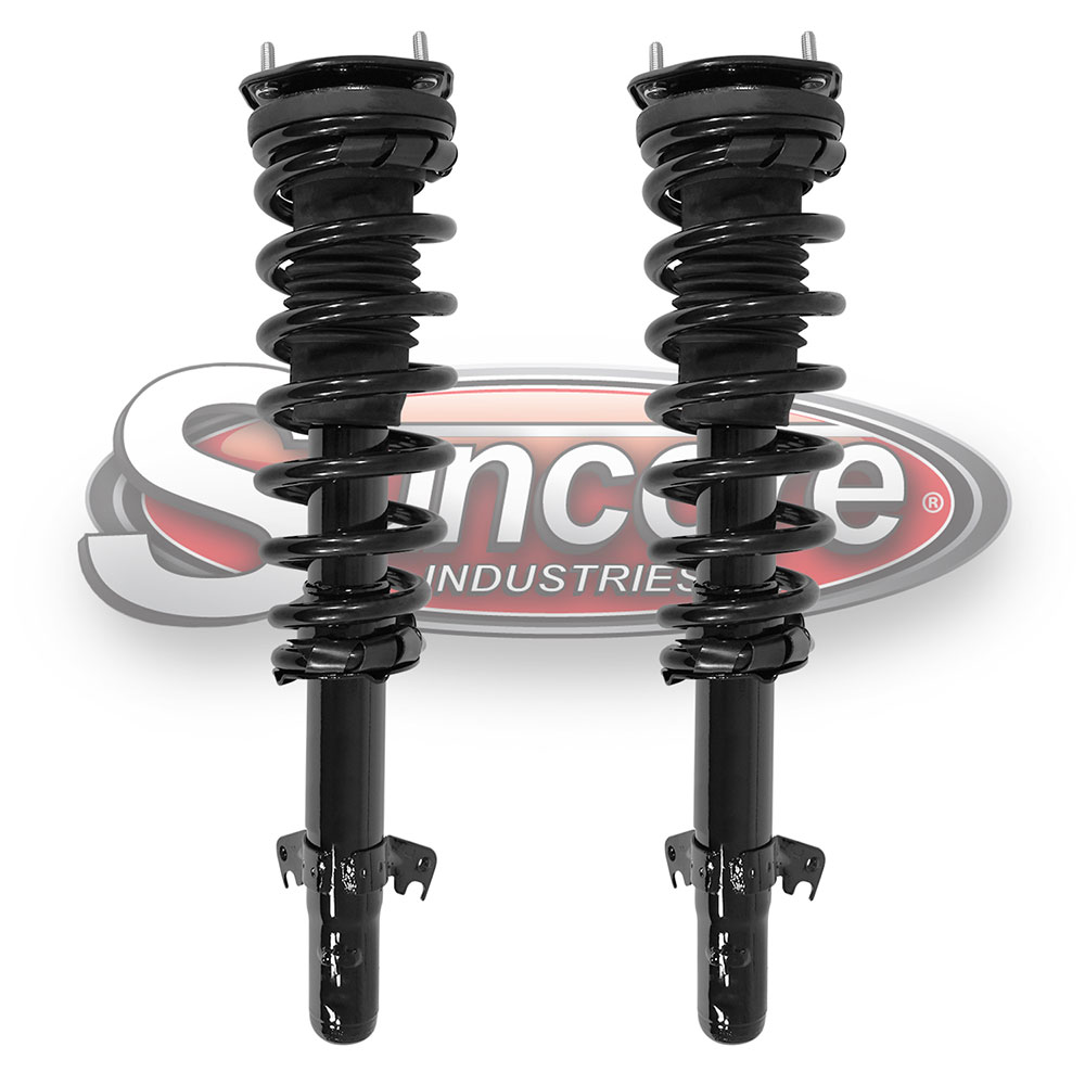 4 CYL Quick Install Strut Assemblies Front Pair - Ford Fusion