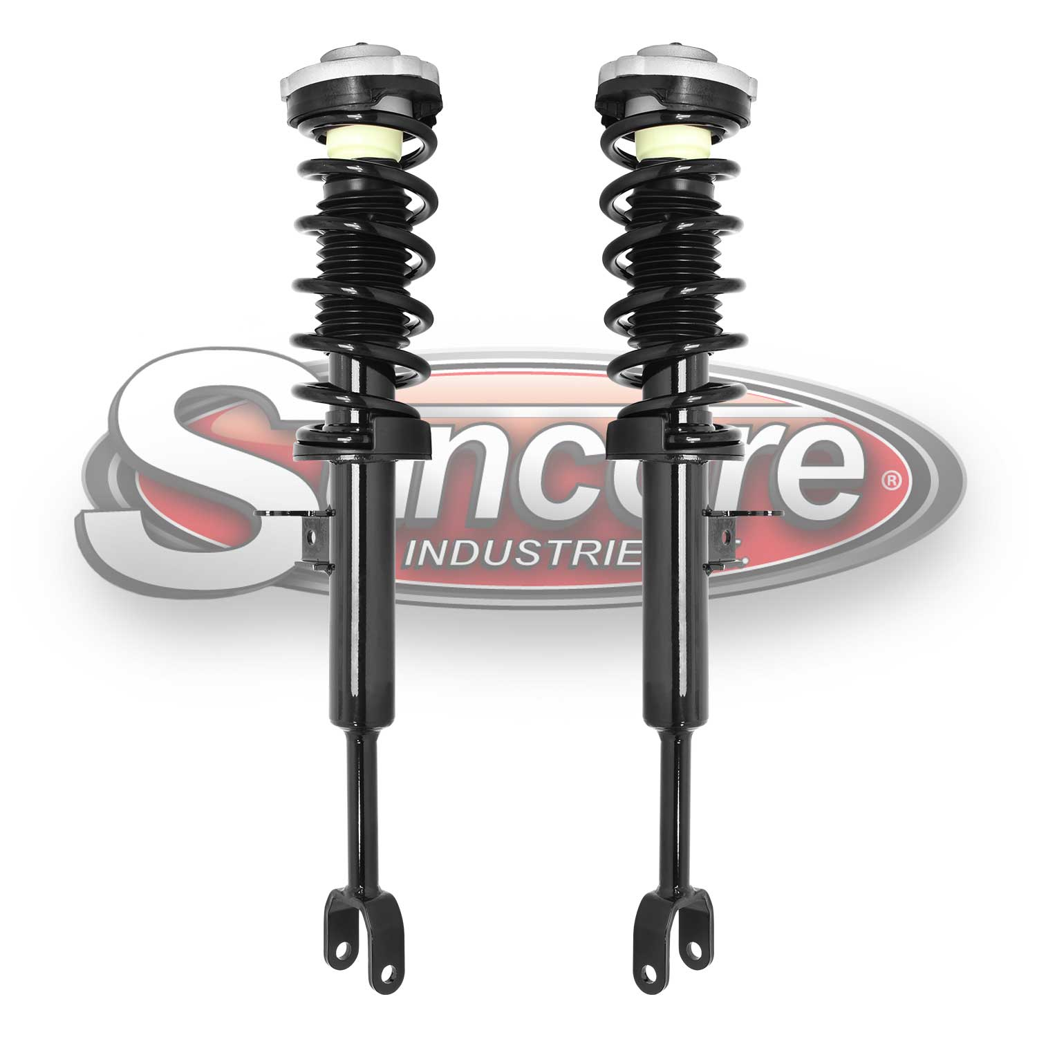 Front Pair of Quick Complete Strut & Spring Assemblies - 2011-2016 BMW 528i, 535i